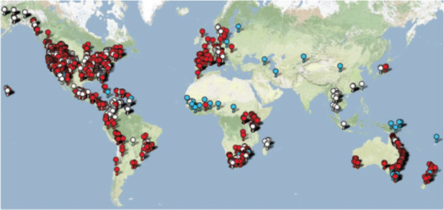 Overview Of Amphibian Diseases - Amphibian us map