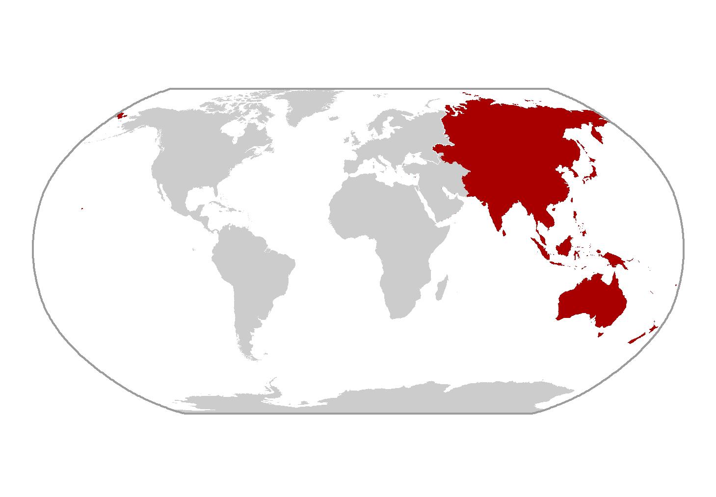 Amazing Amphibian Litoria Aurea - Amphibian loss us map